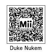 QR Code for Duke Nukem by Noldor Ranzou