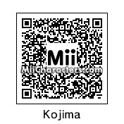 QR Code for Hideo Kojima by Arc of Dark
