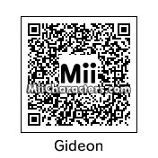 QR Code for Gideon Graves by Arc of Dark