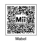 QR Code for Mabel Pines by MaverickxMM