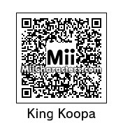 QR Code for The Koopa King by J1N2G