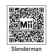 QR Code for Slenderman by Mii4Lyfe