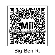 QR Code for Ben Roethlisberger by St. Patty