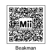 QR Code for Beakman by Cipi