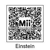 QR Code for Albert Einstein by Techno Tater