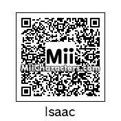 QR Code for Isaac by Kingpendragon