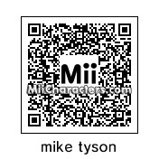 QR Code for Mike Tyson by feardareaper