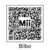 QR Code for Bilbo Baggins by cruisekine
