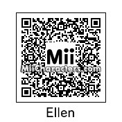 QR Code for Ellen DeGeneres by Techno Tater