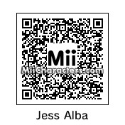 QR Code for Jessica Alba by celery