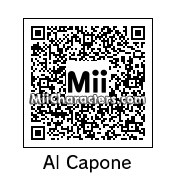 QR Code for Al Capone by Techno Tater
