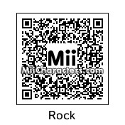 QR Code for Rock by J1N2G