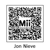 QR Code for Jon Snow by Luthien Frost
