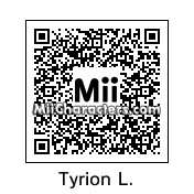 QR Code for Tyrion Lannister by Luthien Frost