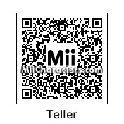 QR Code for Teller by Erica