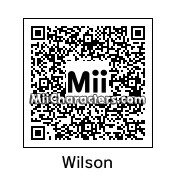 QR Code for Wilson Percival Higgsbury by King Claymore