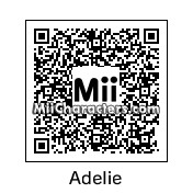 QR Code for Adelie by KM22