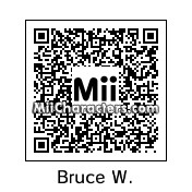 QR Code for Bruce Willis by ZERO-SHIFT
