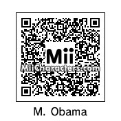 QR Code for Michelle Obama by Randy