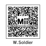 QR Code for The Winter Soldier by Adidino