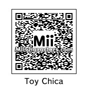 QR Code for Toy Chica the Chicken by EmsyWhimsy