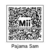 QR Code for Pajama Sam by rhythmclock