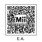 QR Code for Edgar Allan Poe by Rain