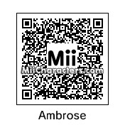 QR Code for Dean Ambrose by OtheOtie