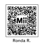QR Code for Ronda Rousey by OpsCat205