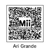 QR Code for Ariana Grande by Hydra