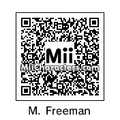 QR Code for Morgan Freeman by Arc of Dark