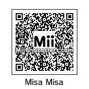 QR Code for Misa Amane by Bulbmin