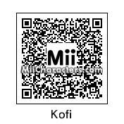 QR Code for Kofi Kingston by OtheOtie