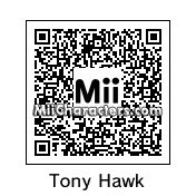 QR Code for Tony Hawk by Spider