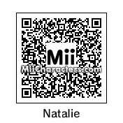 QR Code for Natalie Portman by Spider
