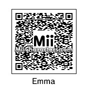 QR Code for Emma Watson by Spider