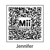 QR Code for Jennifer Lawrence by Spider