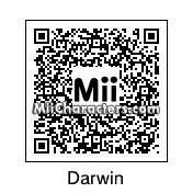 QR Code for Charles Darwin by Adnan Ilyas