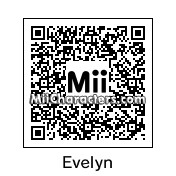 QR Code for Evelyn Nesbit by Diana