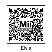 QR Code for Elvis Presley by Diana