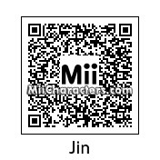 QR Code for Jin Akanishi by AnthonyIMAX3D