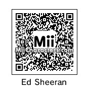 QR Code for Ed Sheeran by pinkypoo