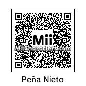 QR Code for Enrique P. Nieto by Edison