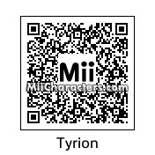 QR Code for Tyrion Lannister by Salazan