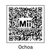 QR Code for Guillermo Ochoa by Edison