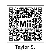 QR Code for Taylor Swift by St. Patty