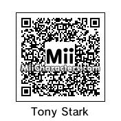QR Code for Tony Stark by Edison