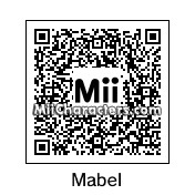 QR Code for Mabel Pines by Salazan