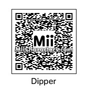 QR Code for Dipper Pines by Salazan