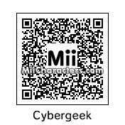 QR Code for The Cybergeek by Joseph Collins